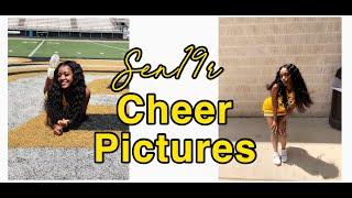 GRWM: SENIOR CHEER PICTURES!!!!!