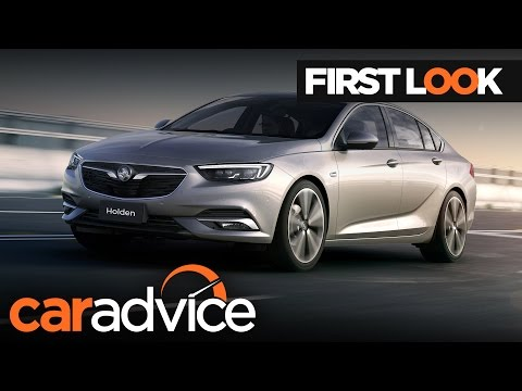 Here's The First Proper Look At The 2018 Holden Commodore