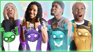 HILARIOUS FIGHT ON THIN ICE! - Gang Beasts Gameplay
