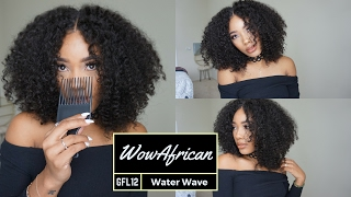 Big Hair Dont Care!: WowAfrican Water Wave Brazilian Lace Wig[GFL12]
