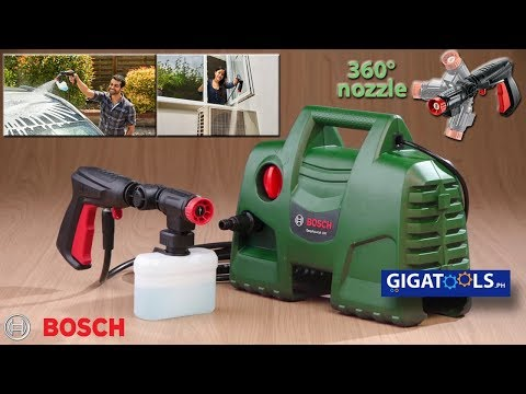 Bosch Easy Aquatak 100 - Unboxing and Product Demo