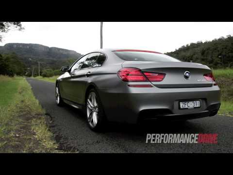 2013 BMW 650i Gran Coupe engine sound and 0-100km/h