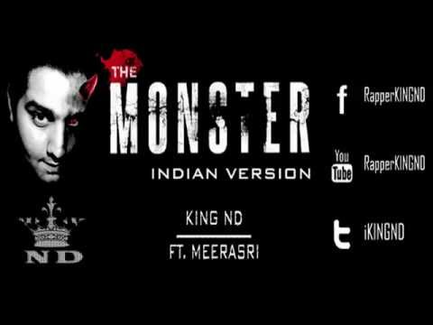 THE MONSTER | KING ND Feat. MEERASRI ( Indian Version 2014)