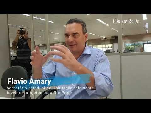 Secretario de Habitação Flavio Amaury
