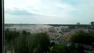 Пожар в ТЦ «Порт» в Казани