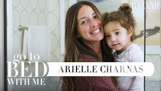Something Navy's Arielle Charnas' Nighttime Skincare Routine   Go To Bed With Me   Harper's BAZAAR