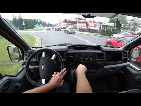Ford  Transit Van Фургон класса M - тест-драйв 2