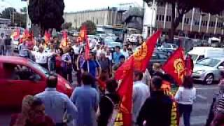 preview picture of video '28 Maggio 2009 Eutelia - blocco di via tiburtina'
