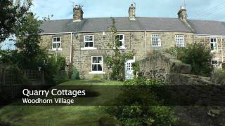 preview picture of video 'Quarry Cottages - Woodhorn Village'