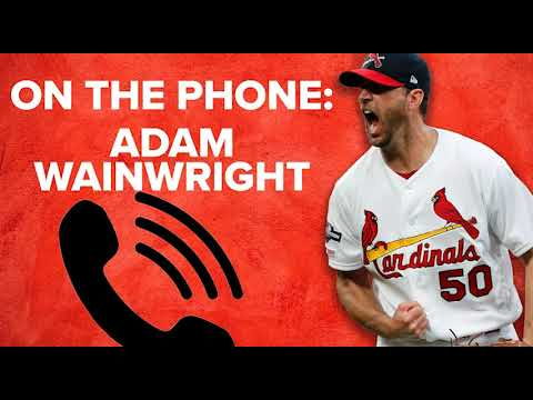 Adam Wainwright talks about re-signing with Cardinals