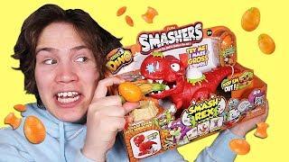 Smashing Open 80 Smashers Egg Capsules! (Series 3)
