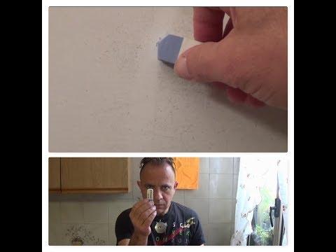 Come cancellare le macchie dalle pareti tutorial