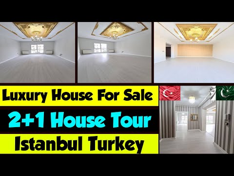 , title : '2+1 House Tour 2021    property for sale in Istanbul turkey    Turkey Me Apne ghar 2021
