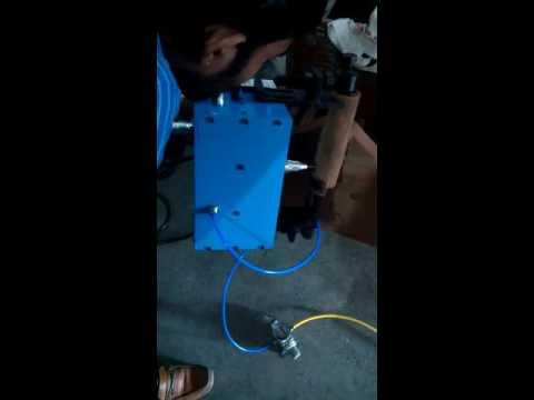 E-Rickshaw Chassis Marking Machine