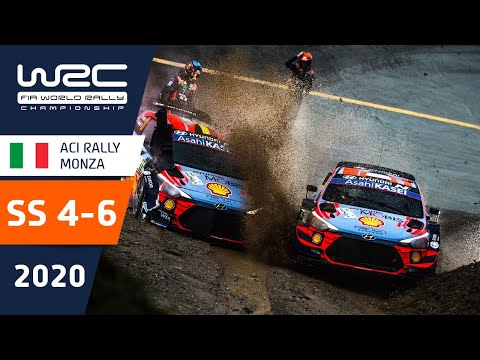 WRC第7戦ラリー・モンツァ SS4-6のハイライト動画