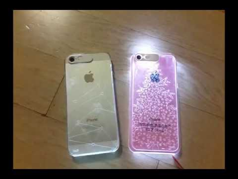Fundas VanD Flashing LED para iPhone 5c, iPhone 5 o iPhone 5s