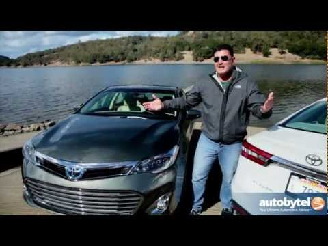 2013 Toyota Avalon and Avalon Hybrid Video Road Test & Review