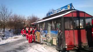 preview picture of video 'Motomikołaje w gminie Mucharz 2013'