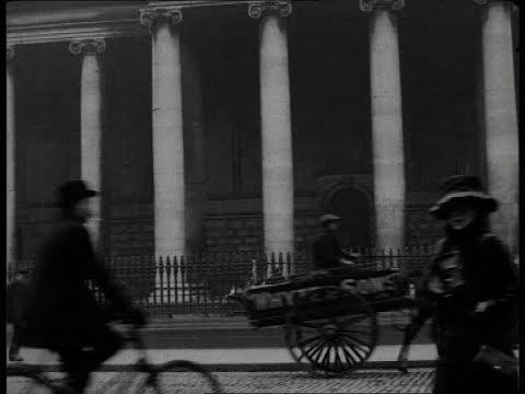 דבלין ב-1915 - תיעוד היסטורי נדיר!