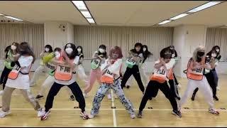 AKB48 Ne mo Ha mo Rumor dance practice full ver.