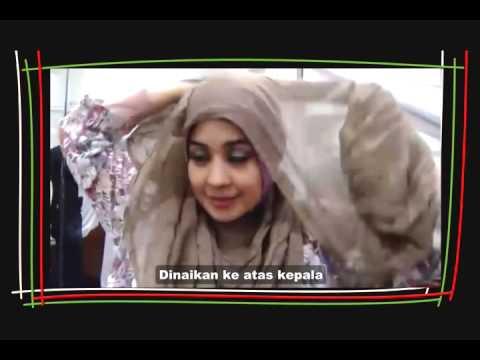 Video Tutorial Hijab Tanpa Peniti dan Jarum Pentul Ala Risty Tagor