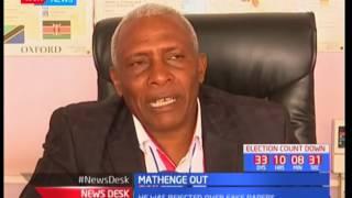 IEBC disqualify Nyeri Gubernatorial aspirant Mathenge over fake papers