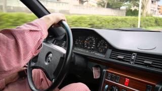 W124 300TE ペラシャフトとジョイントプレートの加速度組み立て (テスト走行)