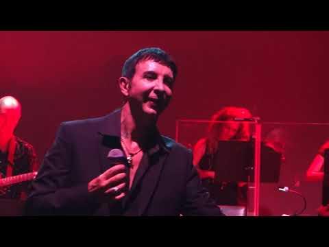 Marc Almond, My Hand Over My Heart. Royal Festival Hall, London, 03/10/17