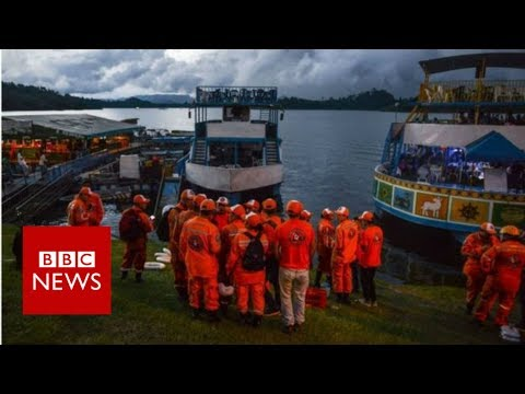 Colombia boat sinking: Six killed and 16 missing – BBC News