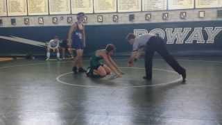 January 2014 Poway Freshman Wrestling Tournament. 1st of 4 matches.