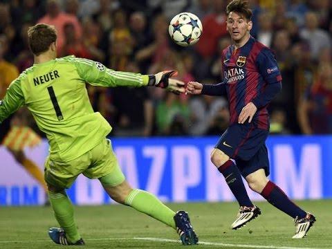 Lionel Messi Incredible 2 Goals vs Bayern Munich 6-5-2015