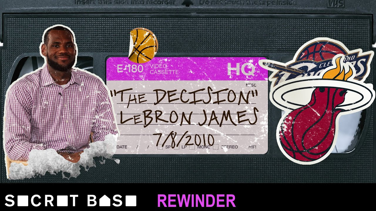 """The Decision"" deserves a deep rewind | LeBron James' free agency 2010 thumbnail"