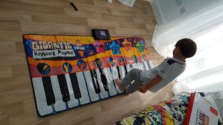Time To Open My New Gigantic Piano Playmat
