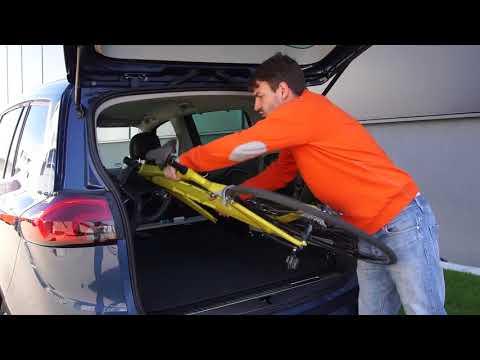 Radfazz Innenraum-Fahrradtraeger montieren und beladen - MOUNTAINBIKE erklärt, wie es geht