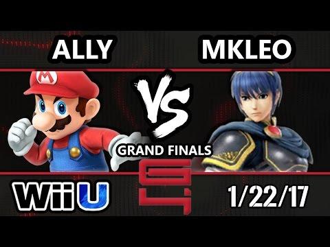 Genesis 4 Smash 4 - C9 Ally (Mario) Vs. FOX MVG | MkLeo (Marth) SSB4 Grand Finals - Smash Wii U