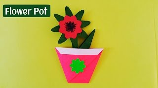 How To Make A Flower Pot In Drawing Sheet Free Online Videos Best