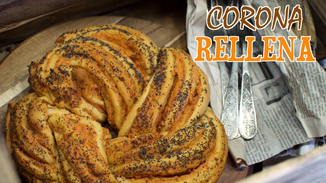 Corona Rellena de Jamón y Queso | Concurso Blogueros Cocineros Canal Cocina | Trenza Rellena Salada