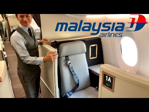 FIRST class vs. BUSINESS class vs. ECONOMY plus vs. ECONOMY class onboard Malaysia Airlines A350