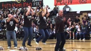Catasauqua High School thanksgiving pep rally 2015