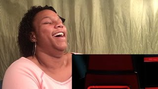 Adam Levine Blind Audition REACTION! (The Voice 2015)