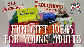 YOUNG ADULT GIFT IDEAS | 21ST BIRTHDAY GIFTS