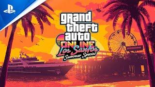 GTA Online -  Los Santos Summer Special   PS4