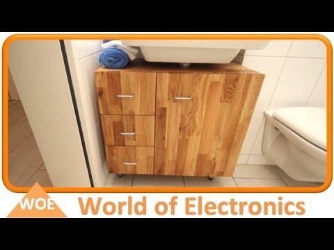 Waschbecken Unterschrank selber bauen #2 Schubladen und Fronten