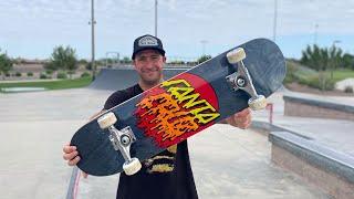 8.0 x 31.6 RAD DOT PRODUCT CHALLENGE w/ ANDREW CANNON! | Santa Cruz Skateboards