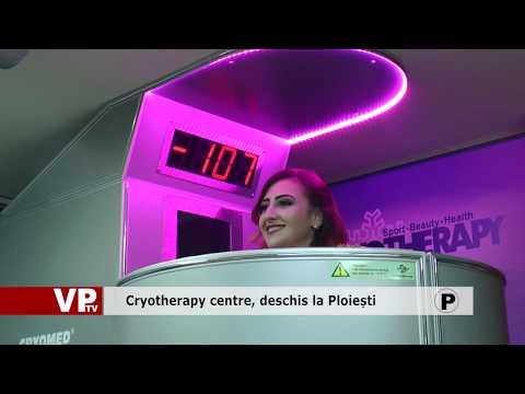 Cryotherapy centre, deschis la Ploiești