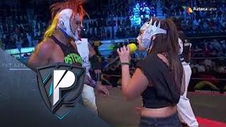 """Los Protagonistas   Lucha Azteca AAA Las """"Pegadoras"""""""