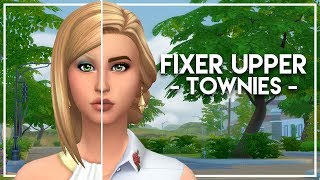 The Sims 4 Townie Makeover | BFF Household - Most Popular Videos