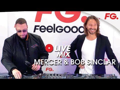 BOB SINCLAR & MERCER | INTERVIEW & MIX LIVE | HAPPY HOUR | RADIO FG