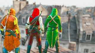 Insane Co-Op Murder! (Assassin's Creed Unity Funny Moments)