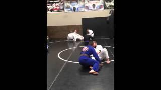 Monday night Jiu-Jitsu class